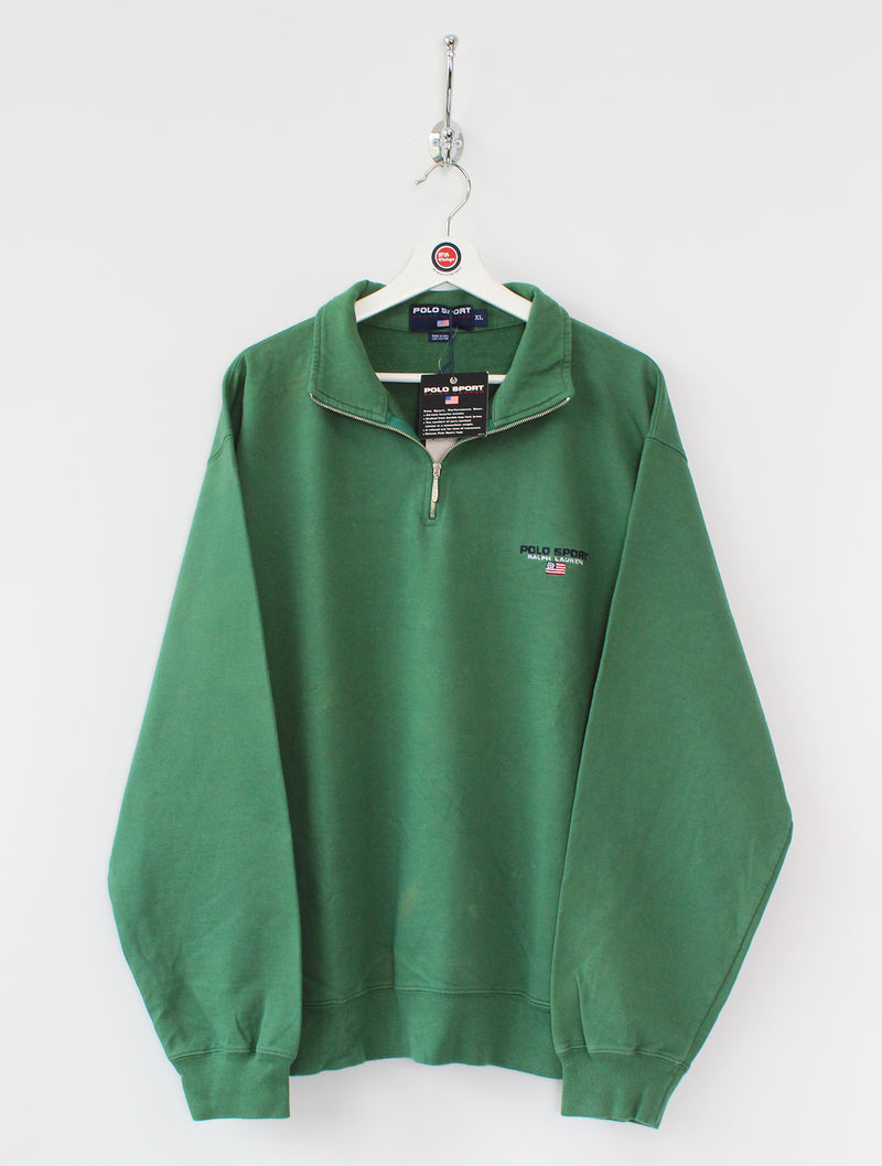 BNWT Ralph Lauren Polo Sport 1/4 Zip Sweatshirt (XL)