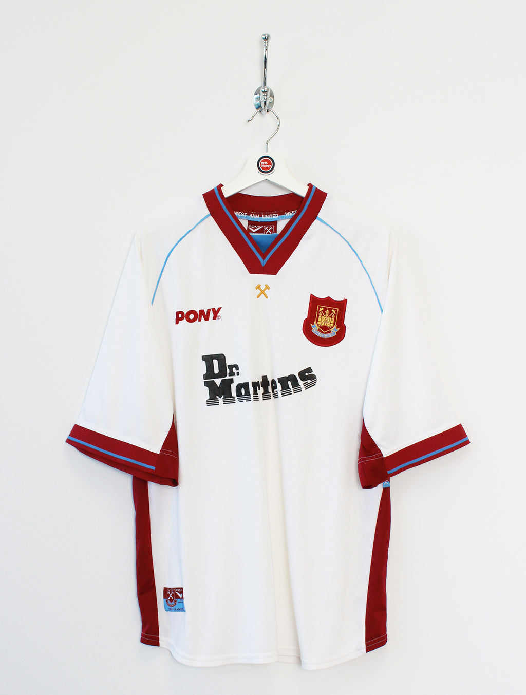 1998/99 West Ham Football Shirt (XL)