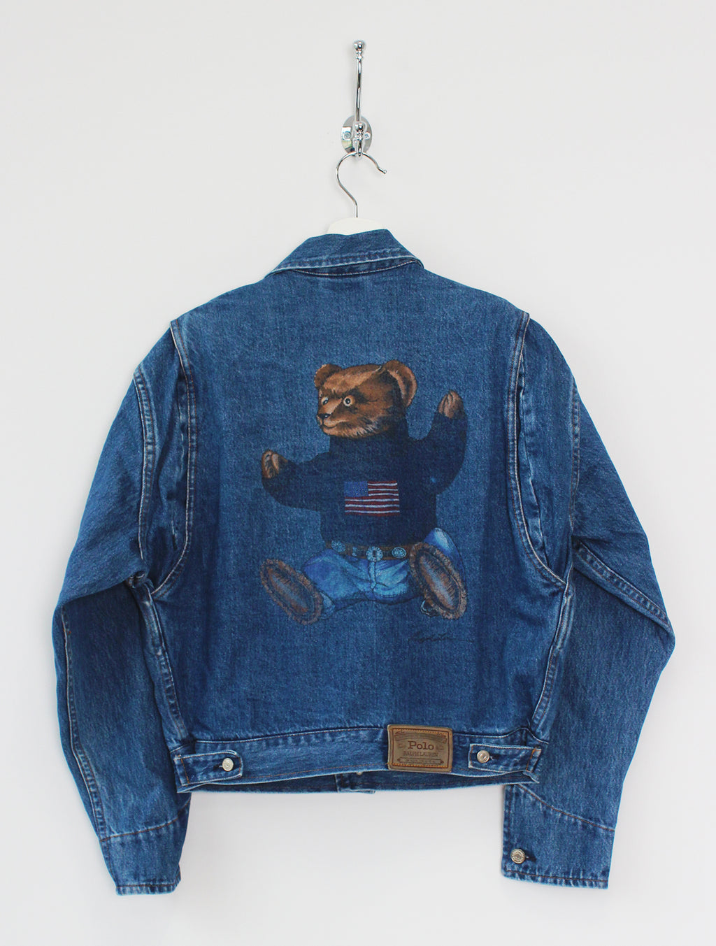 1992 Women's Ralph Lauren Denim Jacket (S)
