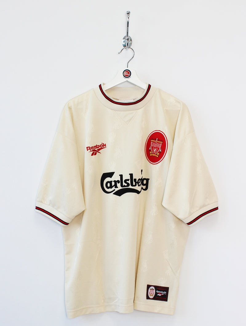 1996/97 Liverpool Football Shirt (XXL)