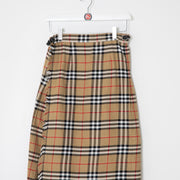 Women's Burberry Nova Check Skirt (26)