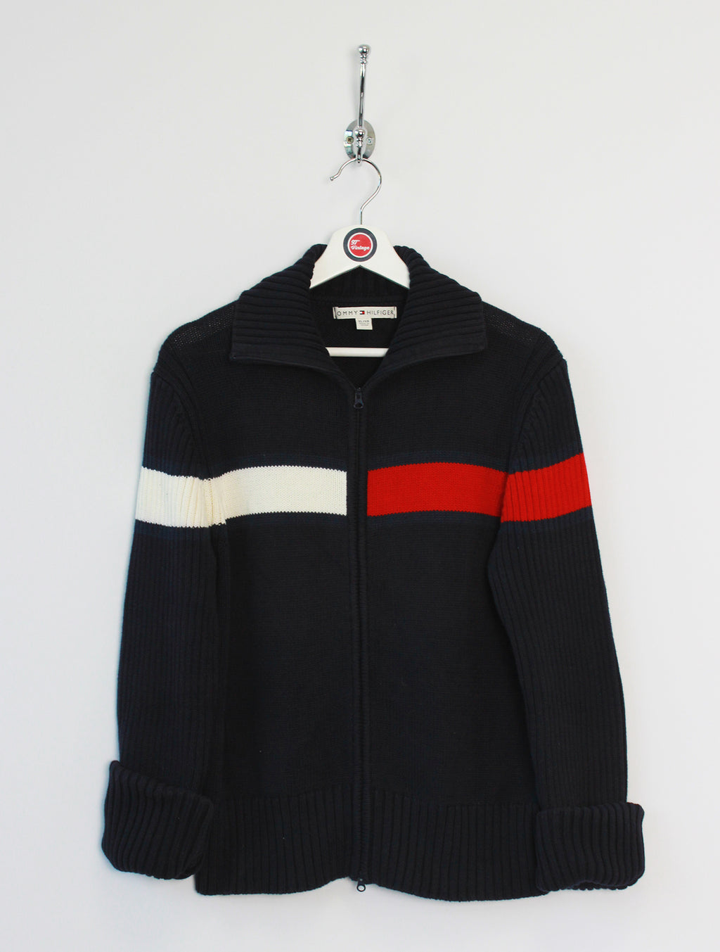 Tommy Hilfiger Zip Up Jumper (XL)