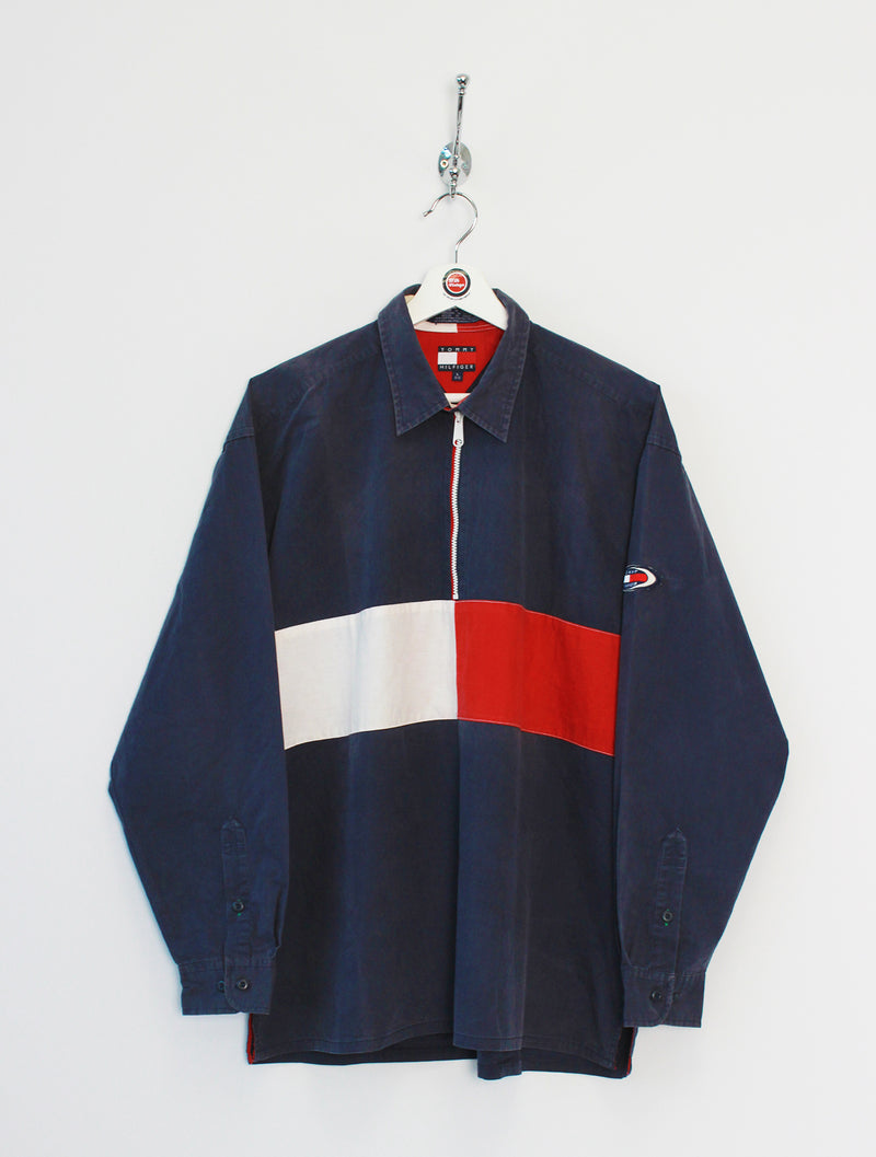 Tommy Hilfiger 1/4 Zip Pullover Jacket (XL)