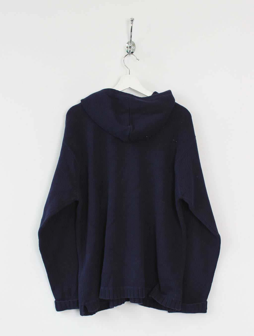 Tommy Hilfiger Knitted Jumper Hoodie (XL)
