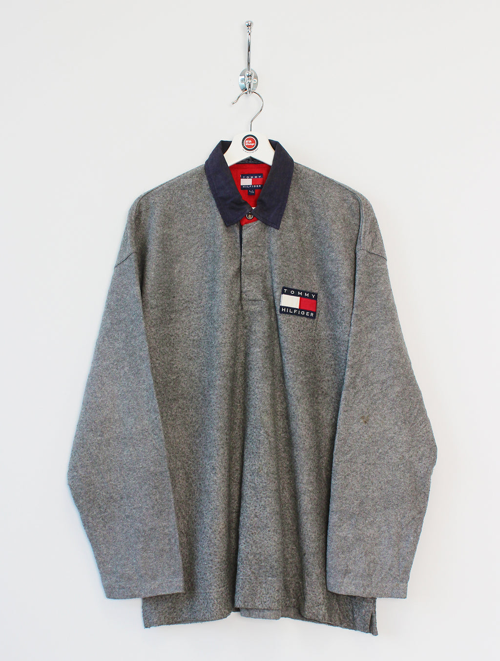 Tommy Hilfiger Fleece Polo Shirt (XL)