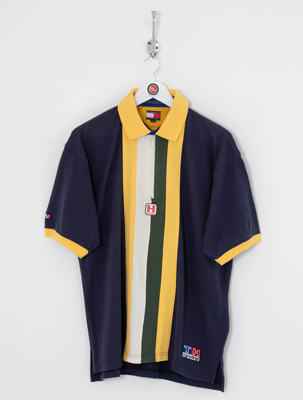 Tommy Hilfiger 1/4 Zip Polo Shirt (L)