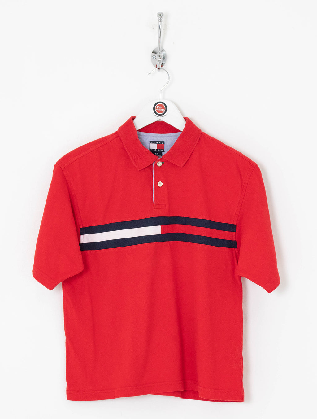 Women's Tommy Hilfiger Polo Shirt (L)