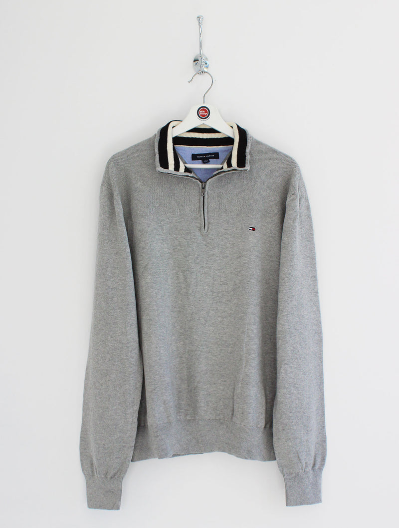 Tommy Hilfiger 1/4 Zip Sweatshirt (XL)