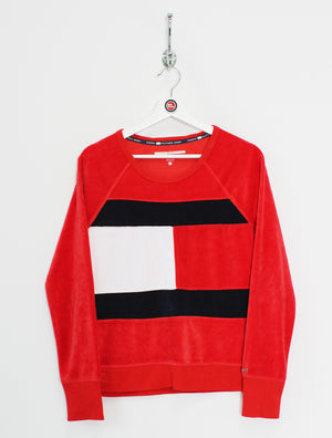 Women's Tommy Hilfiger Velour Sweatshirt (S)