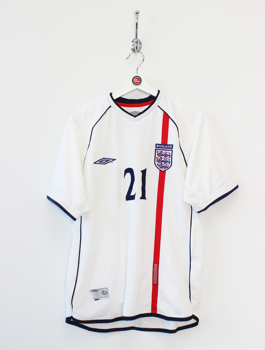 2001/03 England Football Shirt (M)