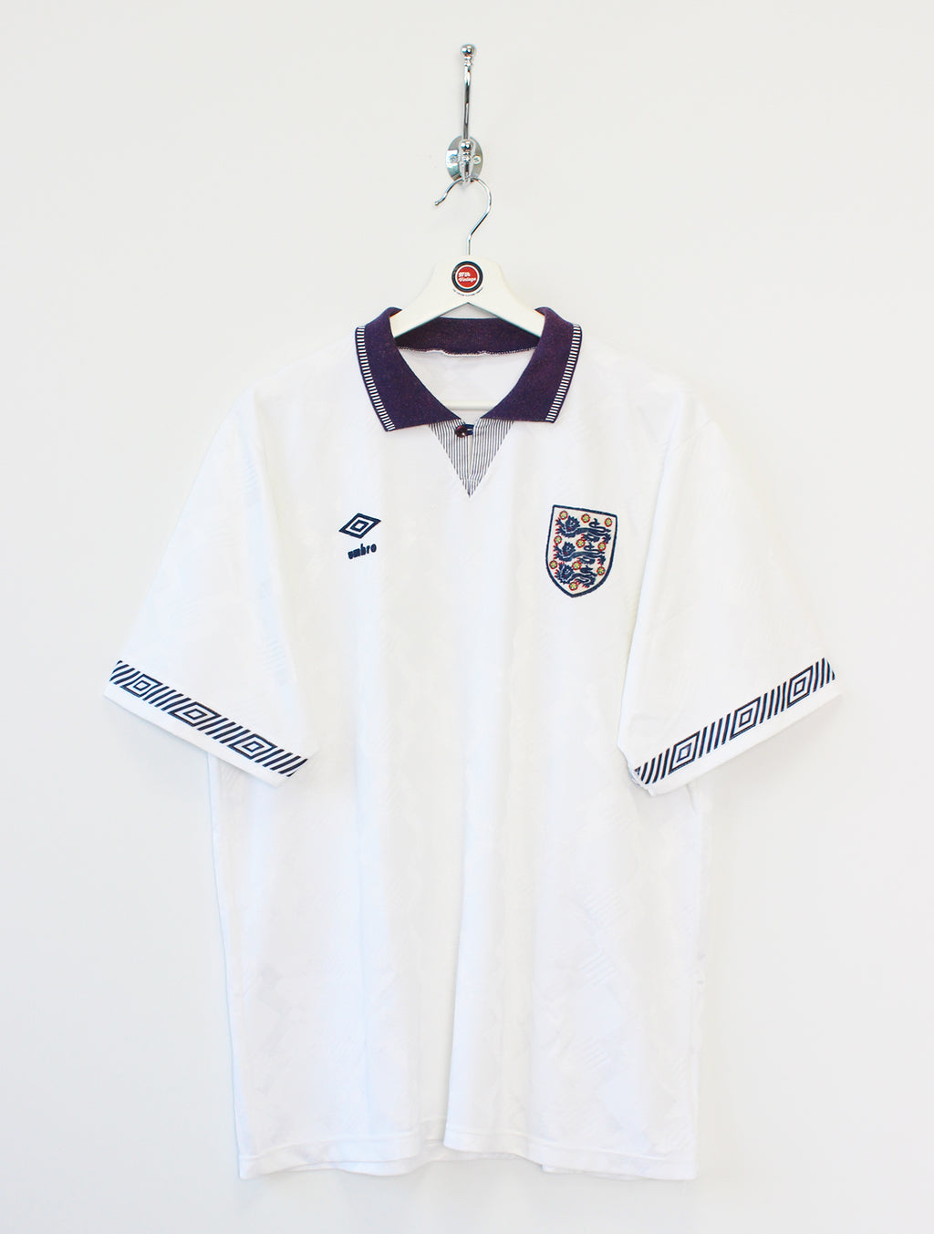 1990/93 England Football Shirt (XL)