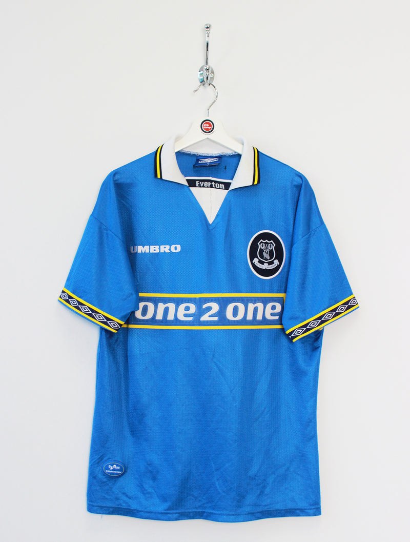 1997/99 Everton Football Shirt (L)