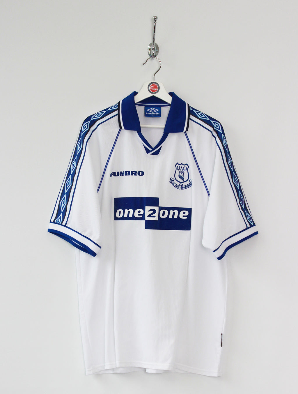 1998/99 Everton Football Shirt (XXL)