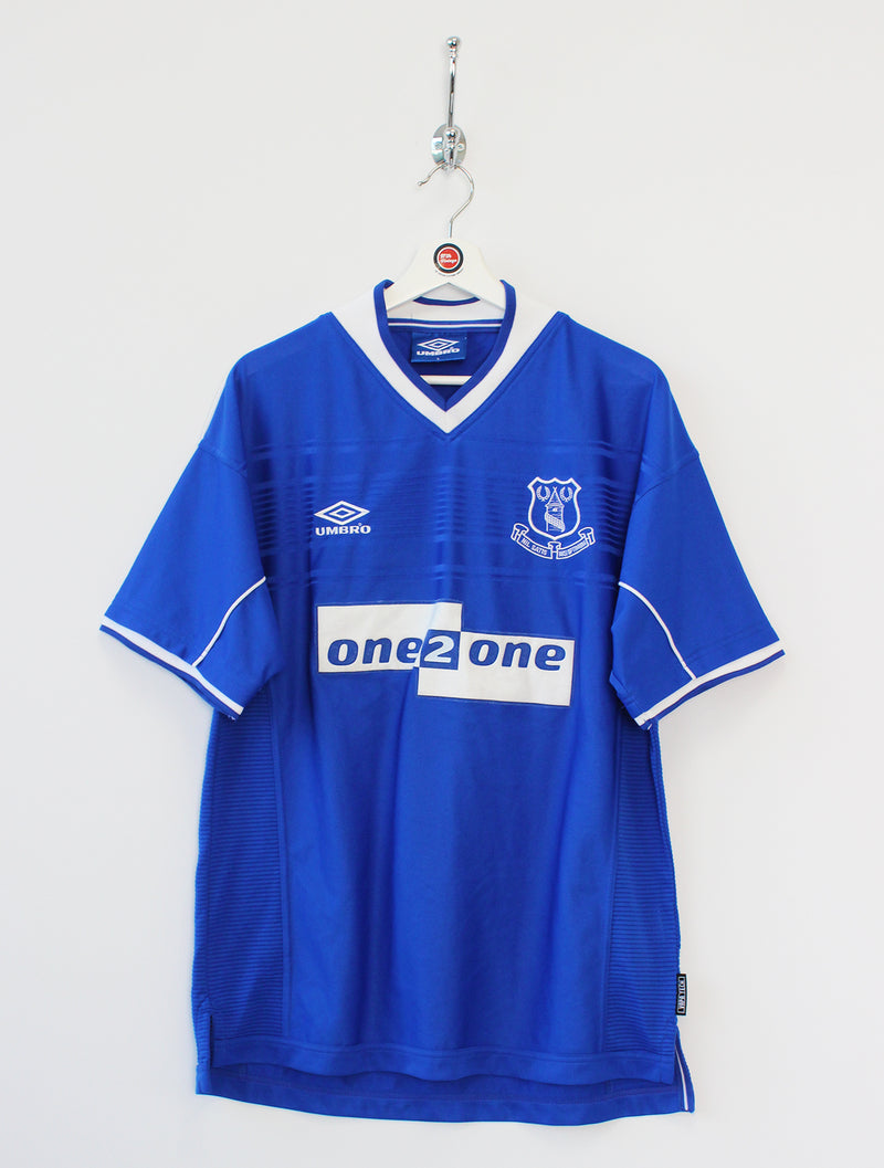 1999/00 Everton Football Shirt (L)