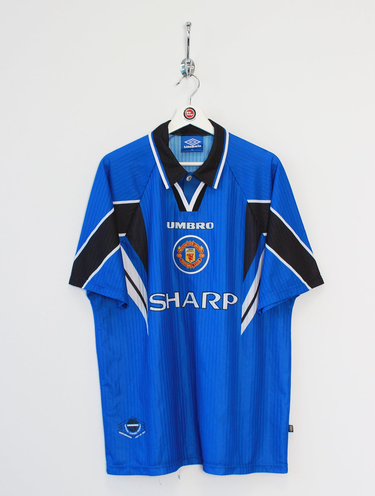156fd5dca3 1996/97 Manchester United Football Shirt (XL) ...