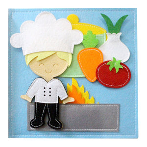 Cook/Chef Quiet Book
