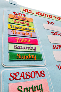 Hanging Giant Weather Calendar for Children