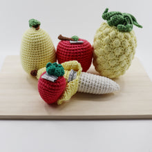 Load image into Gallery viewer, Knitted Fruits Set (5 pcs) - Ollie and Mia