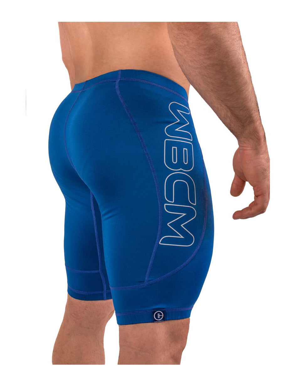 Warm Body Cold Mind weightlifting compression shorts