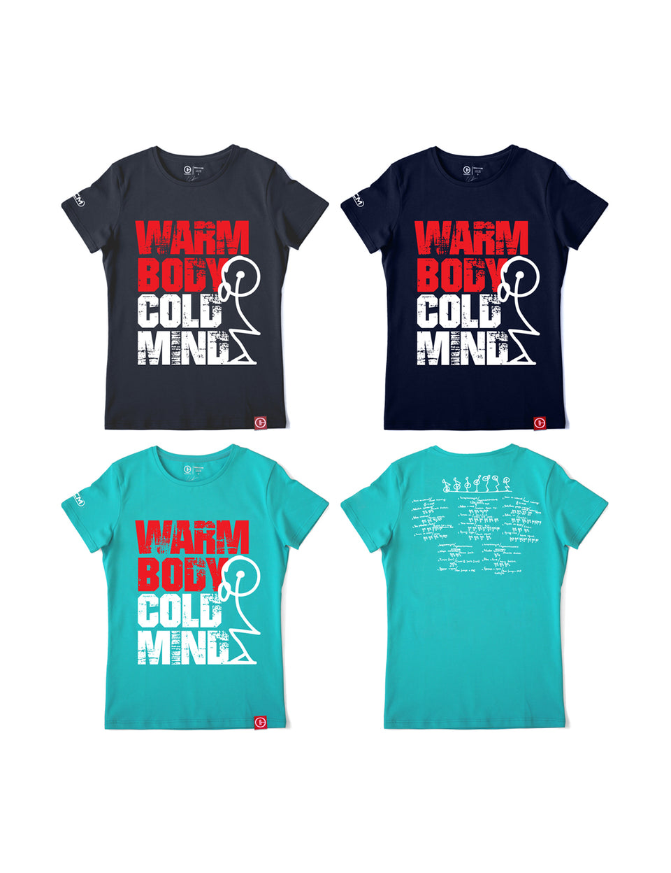 Warm Body Cold Mind Women's T-Shirt V3