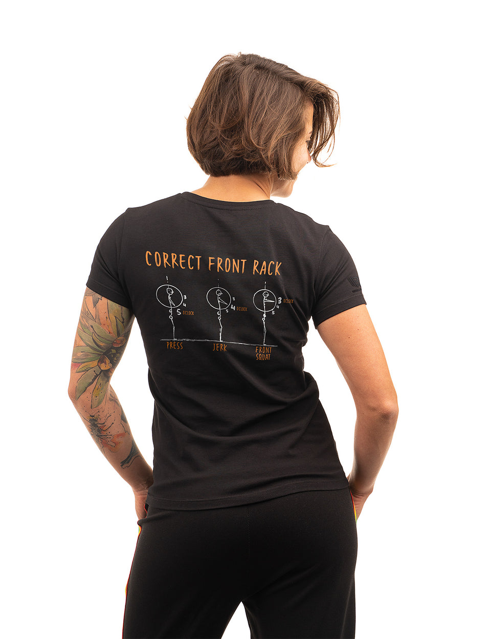 "New T-Shirt ""Front Rack Position"""