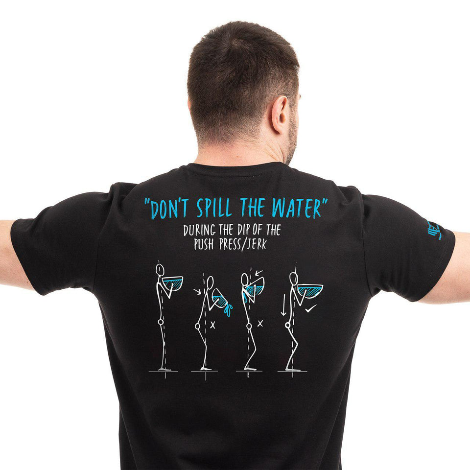 "Brand new T-Shirt ""Don't spill the water"""