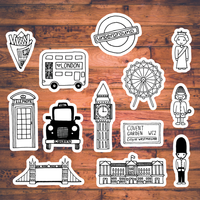 Doodle Cuts - London on planner sheets, planner backgrounds, planner art, planner ideas, planner brands, planner love, planner templates, planner fun, planner paper, planner stamps, planner icons, planner quotes,