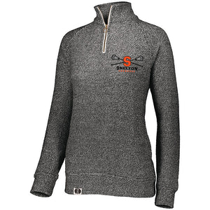 Ladies Cuddly 1/4 Zip Pullover