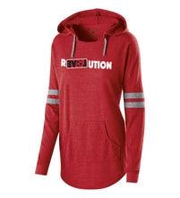 Load image into Gallery viewer, LADIES HOODED PULLOVER