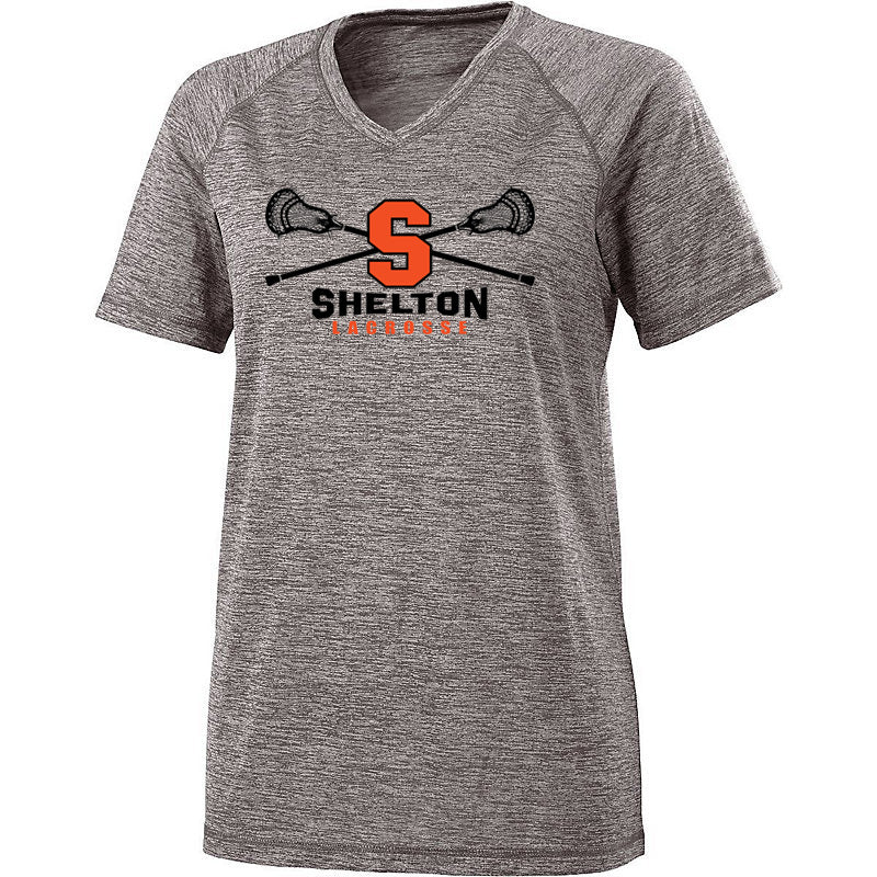 Ladies Short Sleeve V-Neck Shirt
