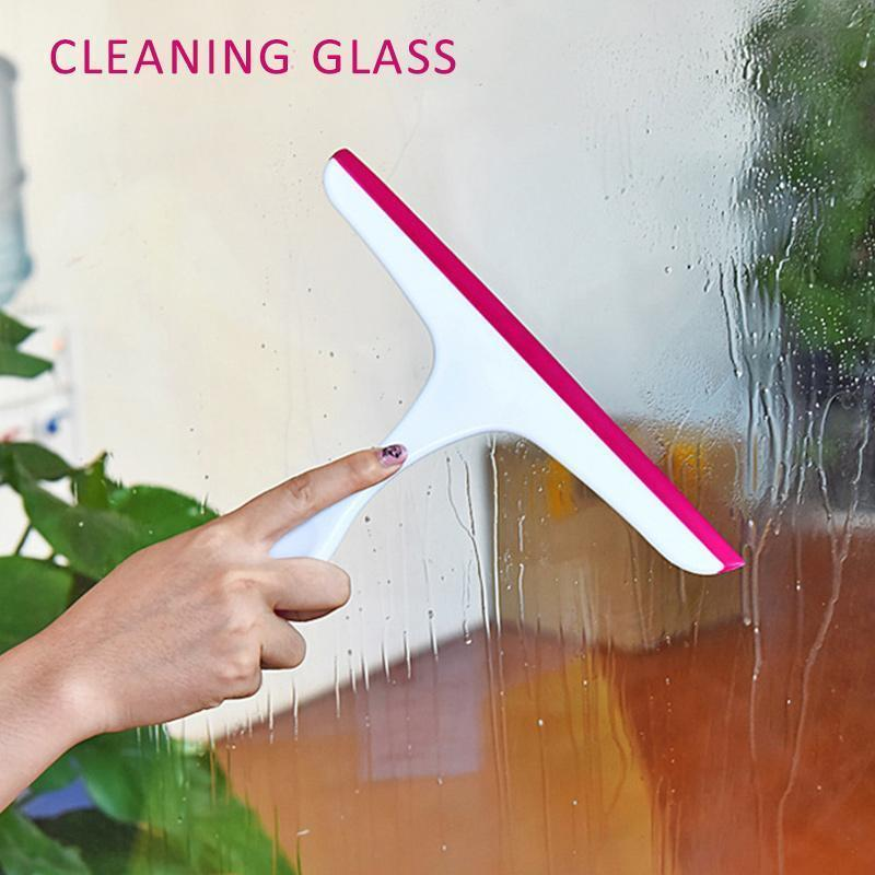 Portable Glass Window Cleaning Squeegee