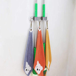 Stainless Steel Mop Rack