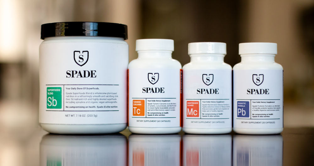 Spade Nutrition Full Product Bundle