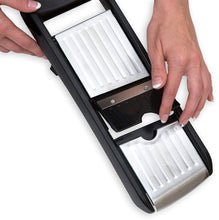 Load image into Gallery viewer, 4-in-1 Adjustable Mandoline Slicer