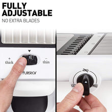 Load image into Gallery viewer, Adjustable-Foldable Mandoline Slicer with Comfort Grip Hand Protector