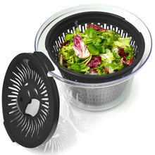 Load image into Gallery viewer, Large Salad Spinner-Dyer with Bowl and Colander basket