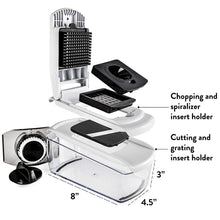 Load image into Gallery viewer, Fullstar Vegetable Chopper Dicer Mandoline Slicer - Food Chopper Vegetable Spiralizer Vegetable Slicer - Onion Chopper Salad Chopper Veggie Chopper Vegetable Cutter Food Slicer 7 Blades