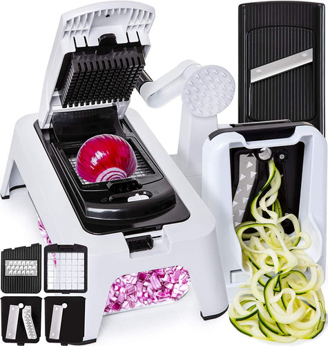 Fullstar's 3-in-1 Spiralizer, Chopper, Mandolin