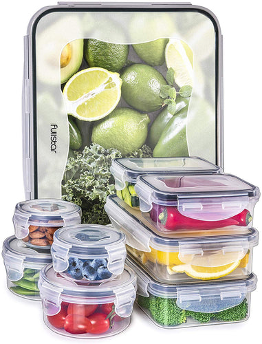 18-piece Airtight Food Storage Containers set (5 sizes)