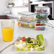 Load image into Gallery viewer, 12-piece set Plastic Food Storage Containers with Airtight Lids