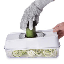 Load image into Gallery viewer, Fullstar Mandoline Slicer Spiralizer Vegetable Slicer -Veggie Slicer 5-in-1  Mandoline Food Slicer with Julienne Grater - V Slicer Mandoline Cutter - Vegetable Cutter Zoodle Maker