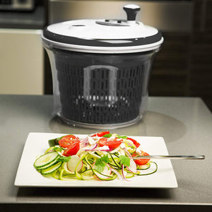 Large Salad Spinner-Dyer with Bowl and Colander basket