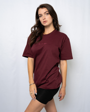 Burgundy Signature Saranti T-Shirt