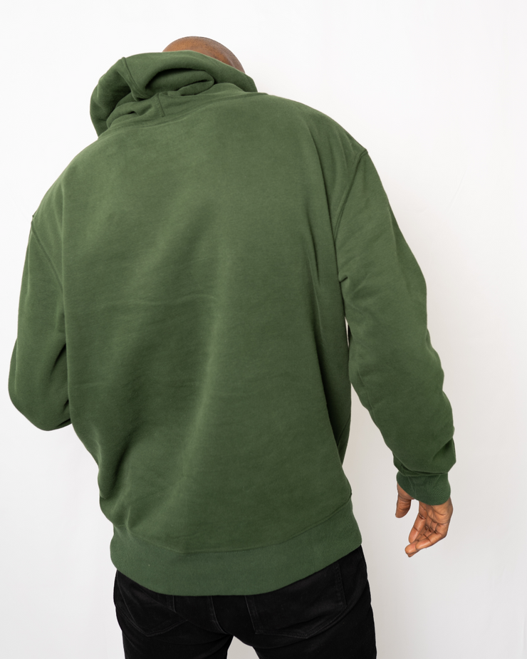 Forest Green Signature Saranti Hoodie