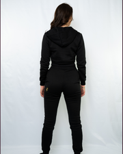 A-Star Crop Zip Tracksuit