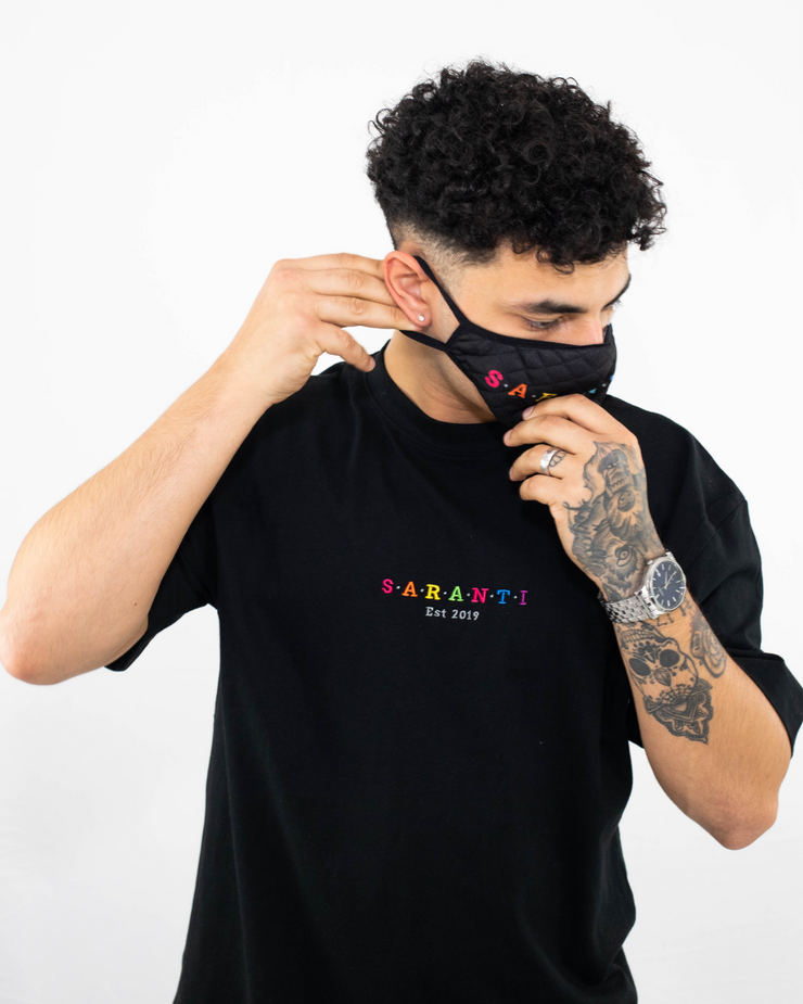 Rainbow Oversized Saranti T-Shirt