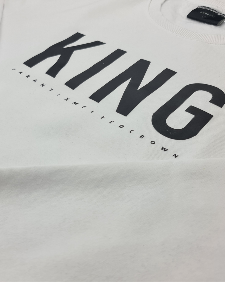 King Sweatshirt X Melted Crown