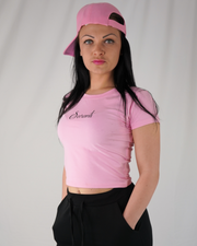 Saranti ♡ Pink Crop Top