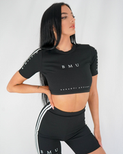 BMU Crop Top & Shorts Co-ord