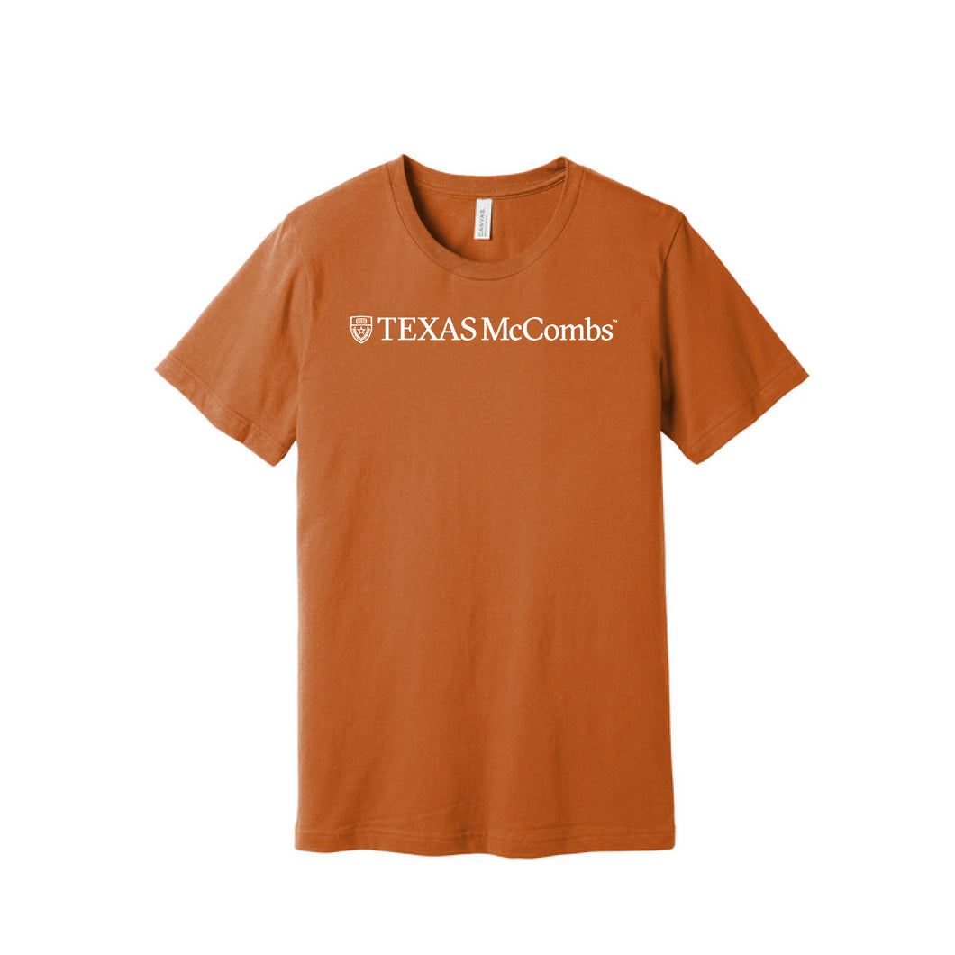 Short Sleeve T-shirt with Longhorn Silhouette on back